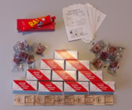 All-Inn muizenbestrijdings pakket