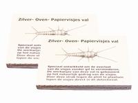 Raster Zilver, Oven en Papiervisjesval